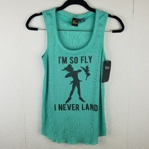 Disney Tinker bell  graphic tank top